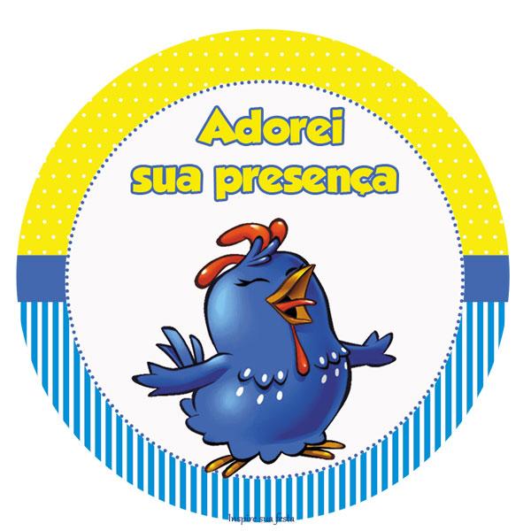 decoracao galinha pintadinha azul e amarelo:Ano – Personalização Galinha Pintadinha Azul e Amarelo