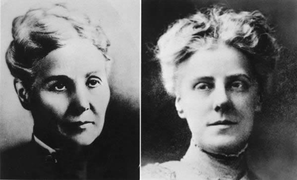 Anna Jarvis e sua mãe Ann Maria Reeves Jarvis