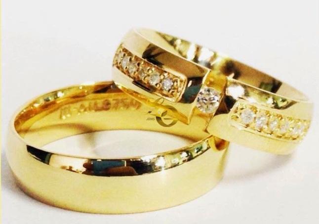 Alianças luxo