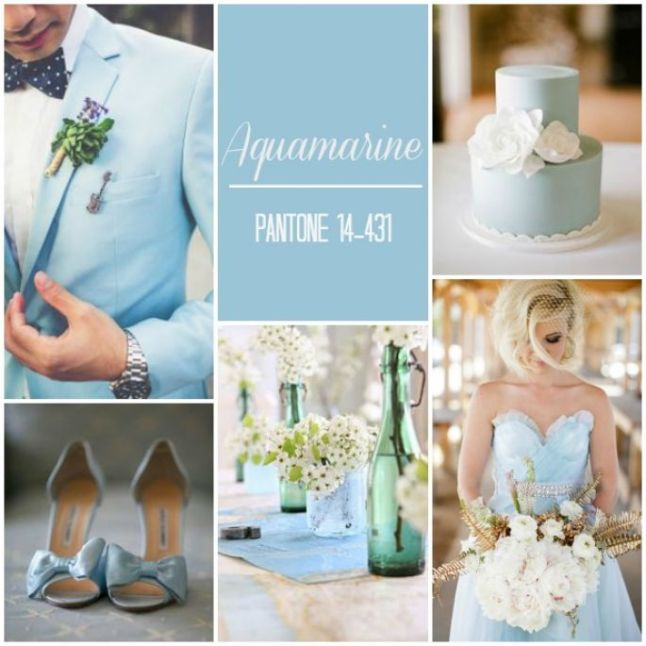 Aquamarine-Pantone-Wedding-Ideas-Inspiration