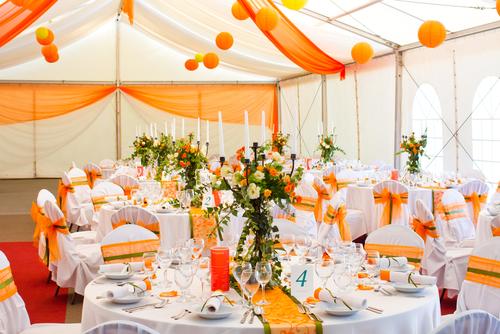 Qual estilo de decoração combina para o seu casamento?  Organize