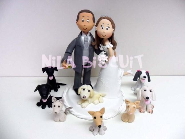 Bonequinhos-do-bolo-de-casamento-com-noivinhos-veterinarios