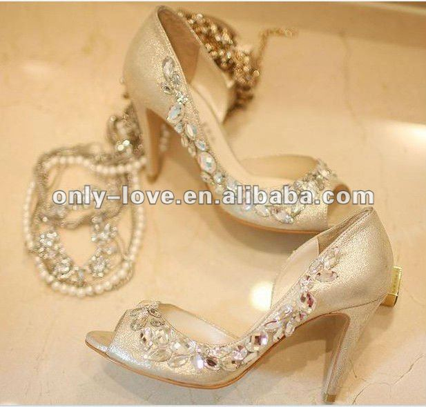 BS282_women_light_golden_peep_toe_bridal