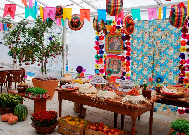 festa-junina-decoração