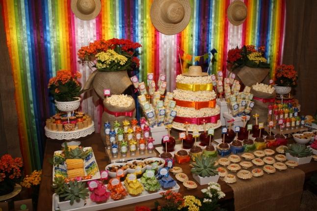 mesa de festa junina 1