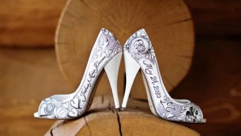 Resultado de imagem para sapato personalizado para noiva