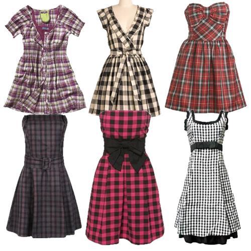 varios-modelos-de-vestidos-xadrez