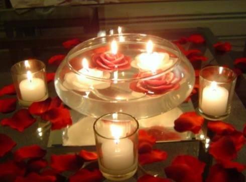 decoracao-de-mesa-de-casamento-velas