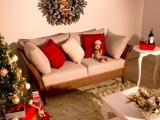 como fazer decoracao de natal em casas ou apartamentos pequenos 6