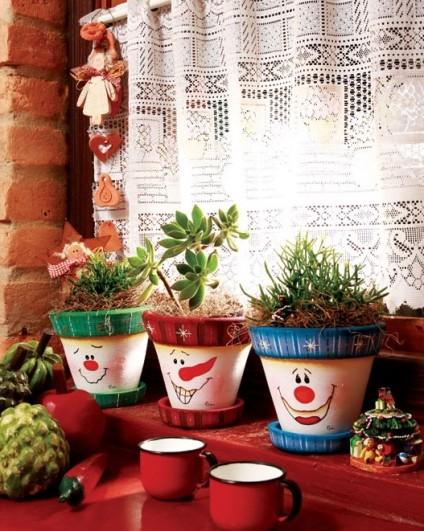 decoracao-de-natal-com-vasos-de-ceramica