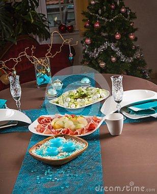 detalhes-de-decoração-do-natal-da-tabela-para-o-jantar-34416684