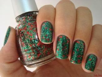 nail art natal